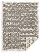 Living Textiles Baby Muslin Jacquard Blanket