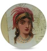 John Derian Princess Round Plate