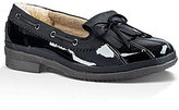 UGG Haylie Bow Detail Waterproof Patent Leather Duck Shoes