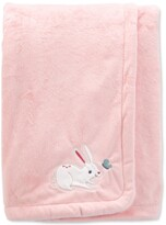 Thumbnail for your product : Carter's Baby Girls Bunny Fuzzy Plush Blanket