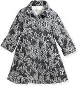 Helena Floral Topper Coat, Size 2-6