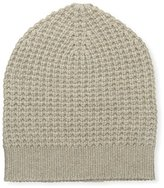 Sofia Cashmere Women's Thermal Hat, Taupe