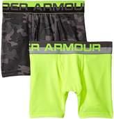 Under Armour Kids 2-Pack UA Camo Boxer Brief Boy's Underwear