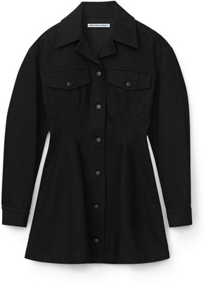 alexanderwang.t Denim Jacket Dress