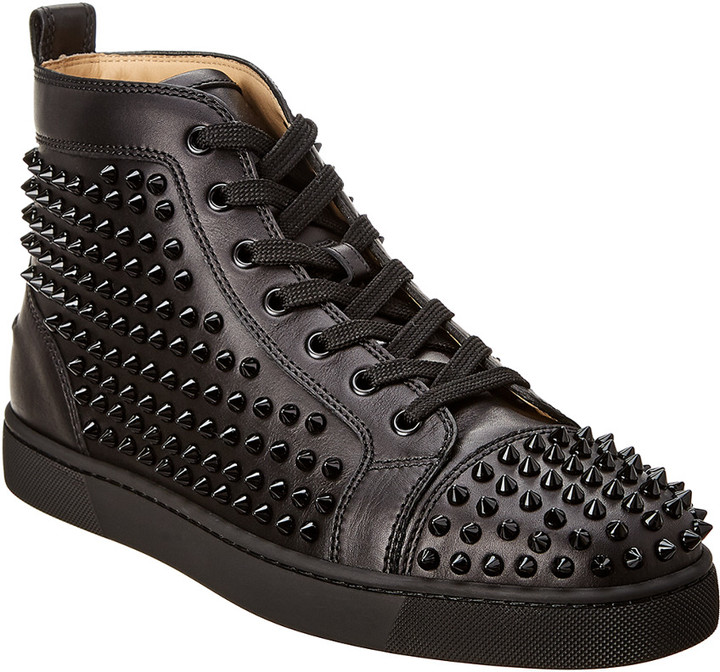 sale retailer 3baae d983a Louis Spikes Leather Sneaker