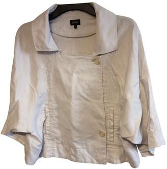 Hobbs Beige Linen Jacket for Women