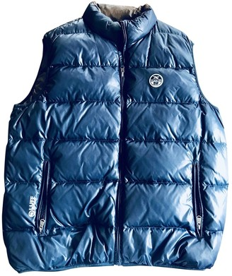 North Sails Blue Synthetic Coats