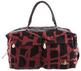 Vivienne Westwood Leather-Trimmed Printed Duffle