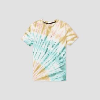 Boys' Tie-Dye Short Sleeve T-Shirt - art classTM Teal/Green