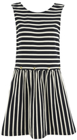 MAISON KITSUNÉ Women's Marin Bali Dress Black/White