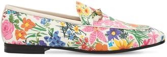 Gucci 10mm New Jordaan Printed Loafers