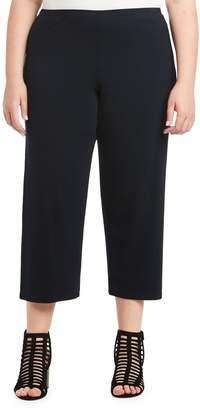 Toni T by Toni Plus Jersey Wide Leg Crop Pants