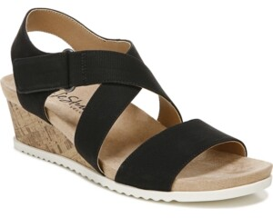 LifeStride Sincere Strappy Wedge Sandals Women's Shoes