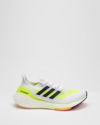 adidas Women's White Training - Ultraboost 21 - Women's - Size 6 at The Iconic