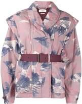 Etoile Isabel Marant Raine abstract-print jacket
