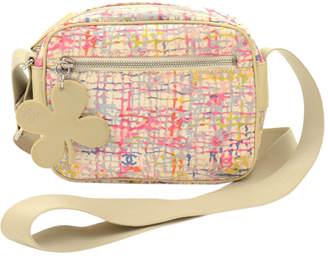 Chanel Multicolor Canvas Messenger Bag