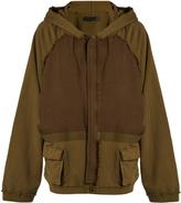 Haider Ackermann Perth oversized zip-through sweat jacket