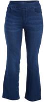Rinse Wash Base Sarah Straight Leg Jeans - Plus