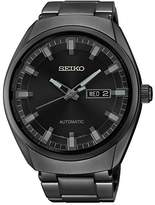 Seiko Men's SNKN43 Analog Display Automatic Self-Wind Watch