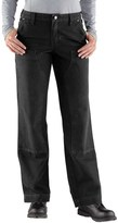 Carhartt Kane Canvas Jeans - Dungarees, Double Front, Relaxed Fit (For Women)