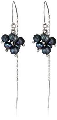 Lucky Brand Women's Pearl Cluster Earrings