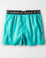 American Eagle Outfitters AE Hot Dog Poplin Boxer
