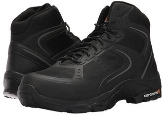 Carhartt Lightweight Work Hiker Steel Toe (Black Nylon Mesh) Men's Work Lace-up Boots