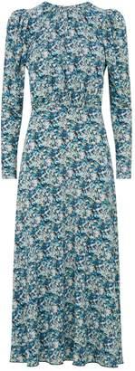 Rotate Floral Backless Midi Dress