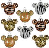 Disney Mickey Mouse Animal Print Ornament Set