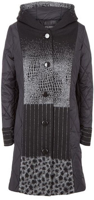 Puffa James Lakeland Faux Fur Panel Coat