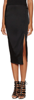 ABS by Allen Schwartz Mid Length Skirt with Side Slit