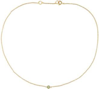 Susan Caplan Vintage 18ct Gold Plated Single Swarovski Crystal Necklace