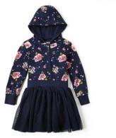 Nevada Girls Floral Hooded Tutu Dress