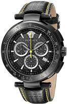Versace Men's I8C60D008 S009 Mystique IP Chronograph Tachymeter Watch