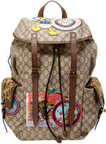 Gucci Soft Gg Supreme Applique Backpack