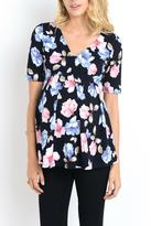 The Swanky Stork Flora Top