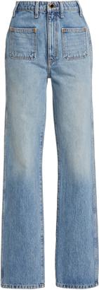 KHAITE Isabella Rigid High-Rise Skinny Jeans