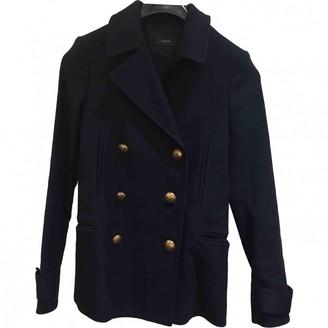 Joseph Blue Cotton Coat for Women