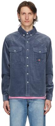 Billionaire Boys Club Blue Corduroy Over Shirt
