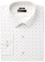 Bar III Men's Slim-Fit Stretch Seafoam Horn Print Dress Shirt, Created for Macy's