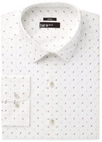 Bar III Men's Slim-Fit Stretch Seafoam Horn Print Dress Shirt, Only at Macy's