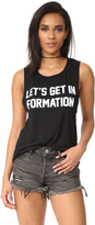 Private Party Let's Get in Formation Muscle Tank