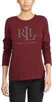 Ralph Lauren Microstud Long-Sleeve T-Shirt