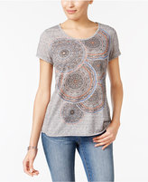 Style&Co. Style & Co Melange Graphic T-Shirt, Only at Macy's