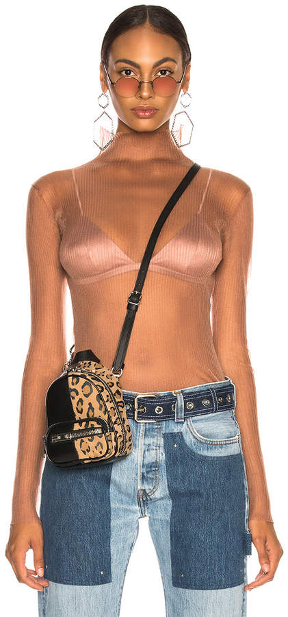 Dion Lee Sheer Knit Top