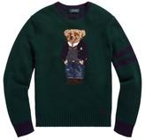Polo Ralph Lauren Bear Wool-Blend Sweater