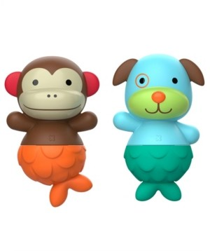 Skip Hop Baby and Toddler Zoo Bath Mix Match Flippers