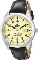 Lacoste Men's 2010782 Montreal Analog Display Japanese Quartz Black Watch