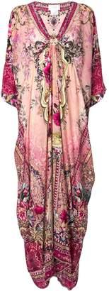 Camilla floral print kaftan dress
