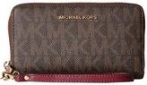 MICHAEL Michael Kors Jet Set Item Lg Flat Mf Phn Case